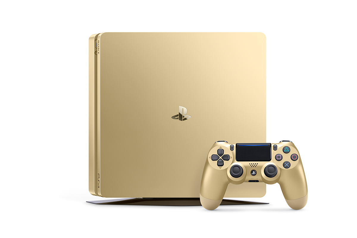 Gold console PlayStation 4
