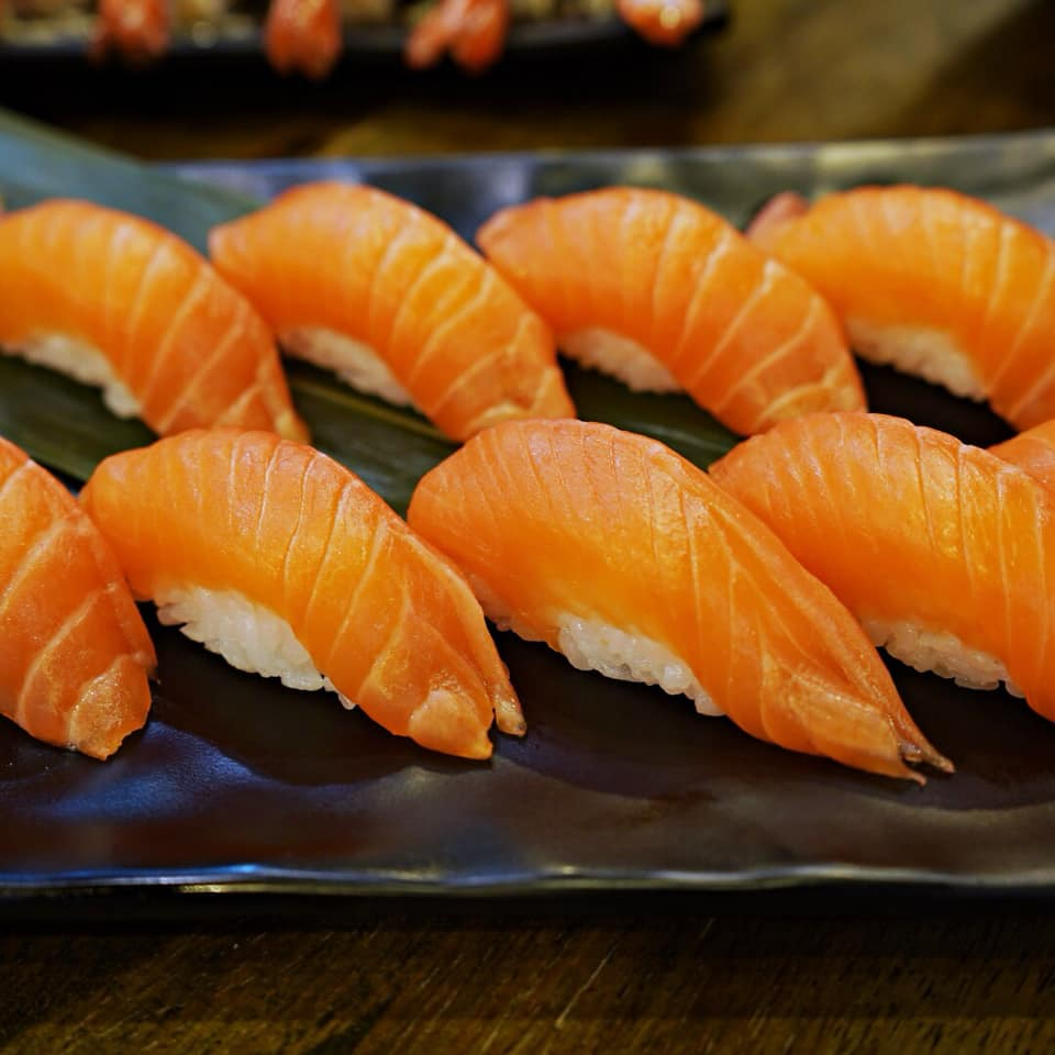 Tadaima Fresh Salmon Buffet